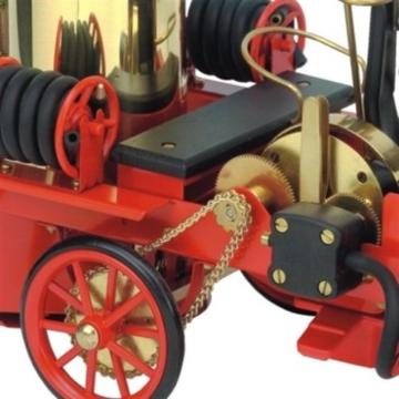 Feuerwehrauto-Wilesco-Dampfmodell-2