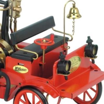 Feuerwehrauto-Wilesco-Dampfmodell-3